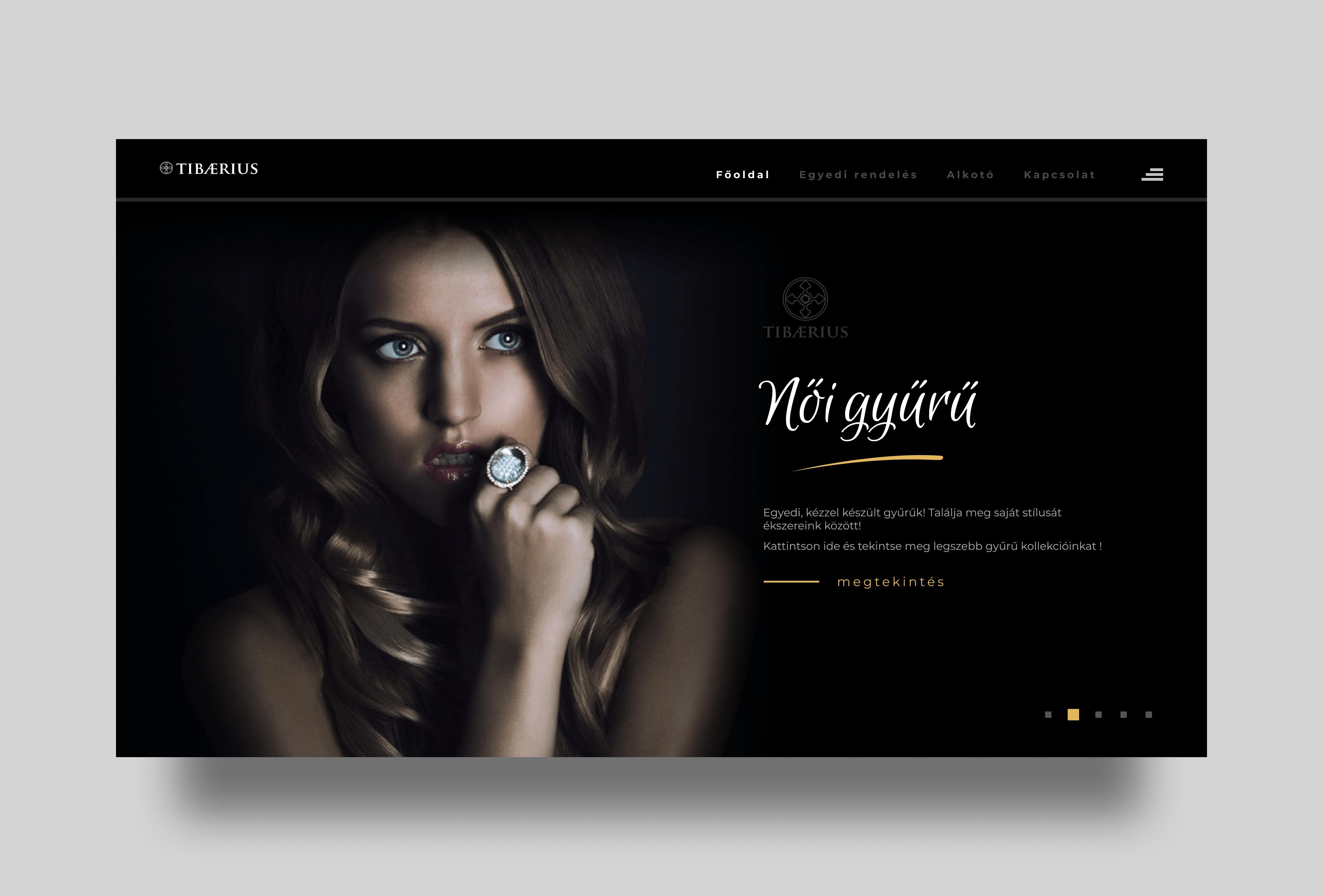 Tibaerius webshop